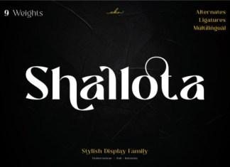 Shallota Font