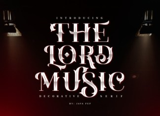 The Lord Music Font