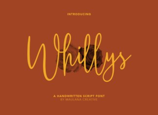 Whillys Font