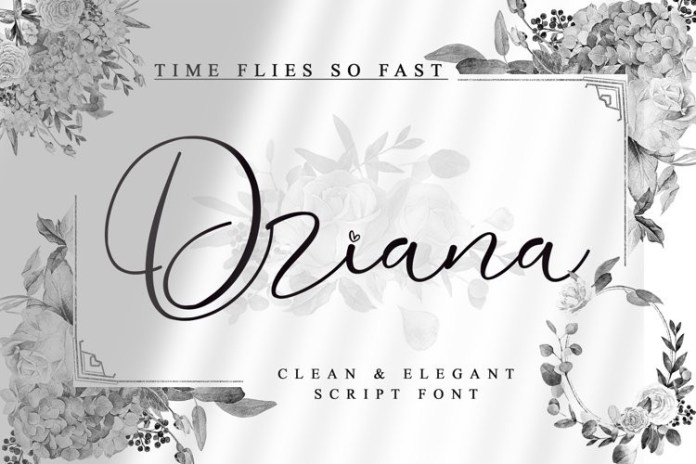 Driana Brideth Font