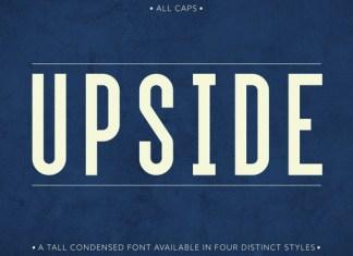 Upside Font