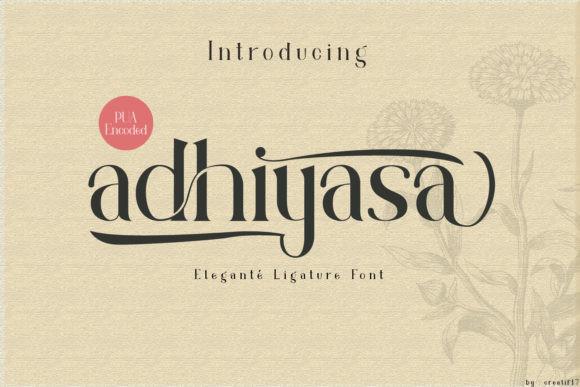 Adhiyasa Font