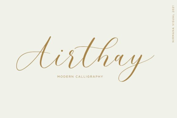 Airthay Font