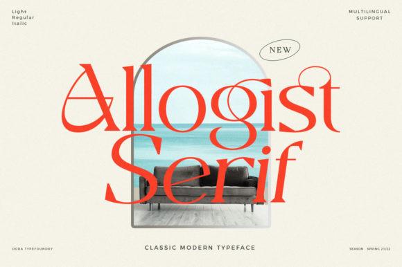 Allogist Font