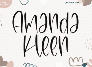 Amanda Kleen Font
