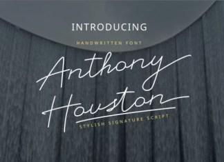 Anthony Houston Font