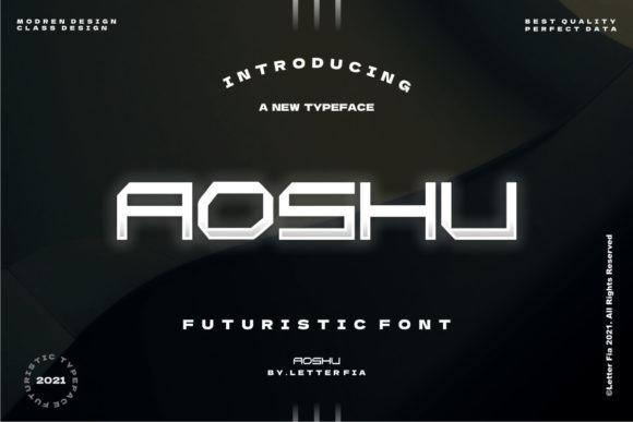 Aoshu Font