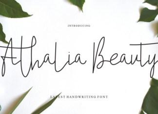 Athalia Beauty Font