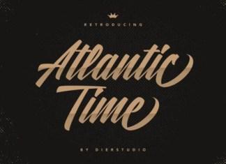 Atlantic Time Font