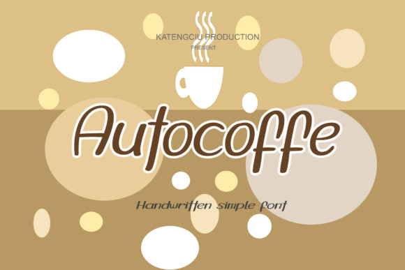 Autocoffe Font