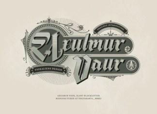 Axulmur Vaur Font