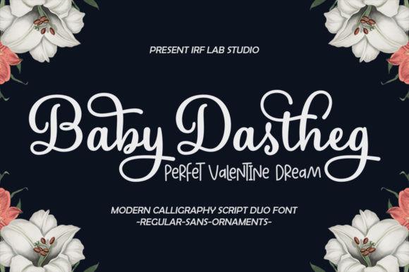 Baby Dastheg Font