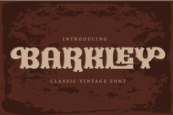 Barkley Font