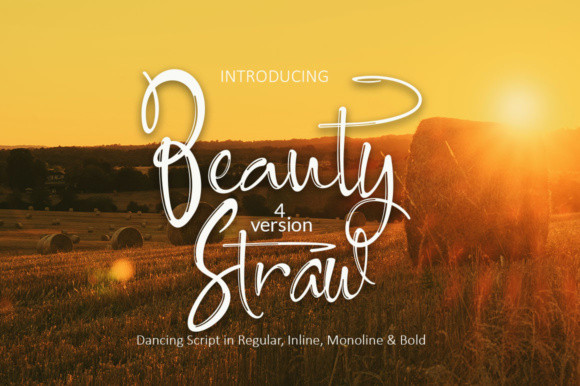 Beauty Straw Font