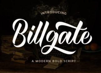 Billgate Font