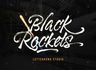 Black Rockets Font