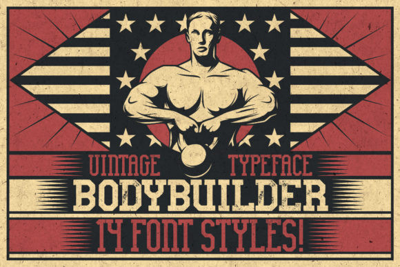Bodybuilder Font