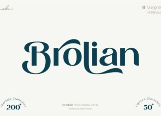 Brolian Font