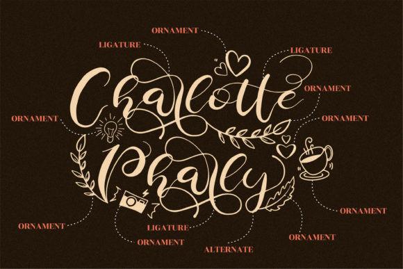 Charlotte Pharly Font