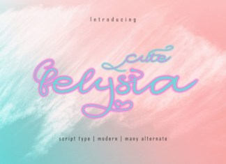 Cute Felysia Font