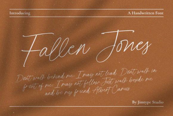 Fallen Jones Font