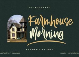 Farmhouse Morning Font