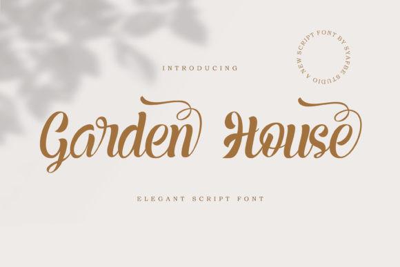 Garden House Font
