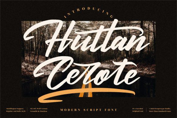 Huttan Cerote Font