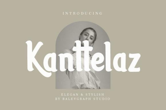 Kanttelaz Font