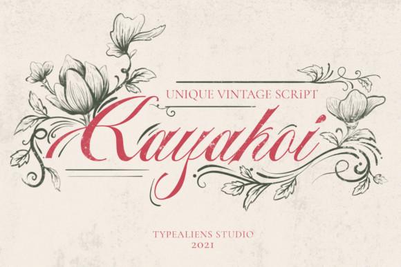 Kayakoi Font