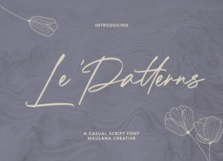 Le Patterns Font