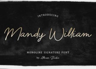Mandy William Font