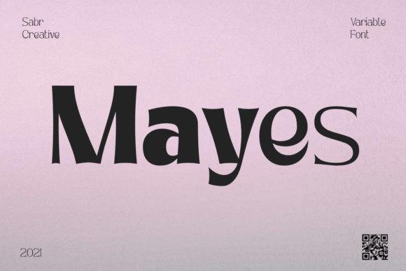 Mayes Font