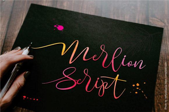 Merlion Font