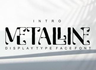 Metalline Font