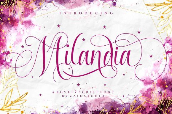 Milandia Font