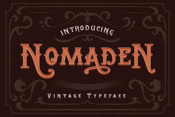 Nomaden Font