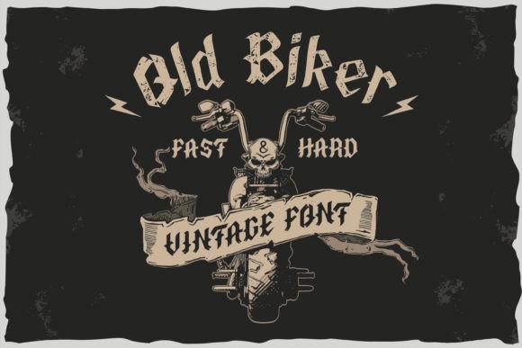 Old Biker Font