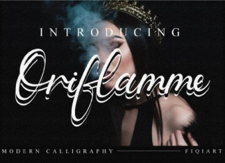 Oriflamme Font