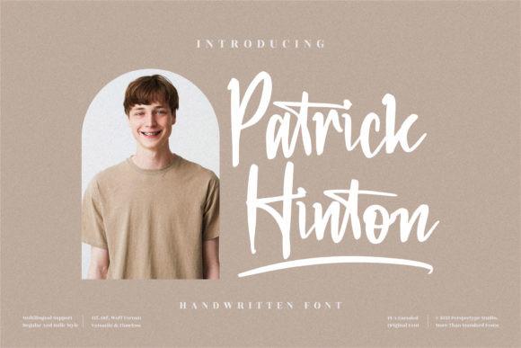 Patrick Hinton Font
