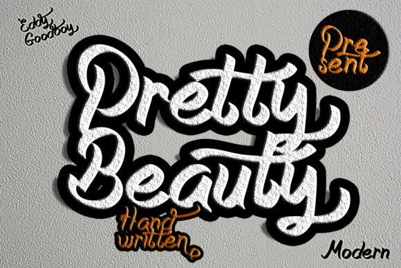 Pretty Beauty Font