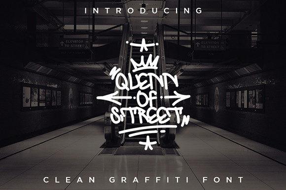 Quenn of Street Font