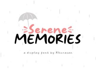 Serene Memories Font