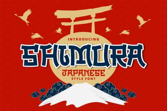 Shimura Font