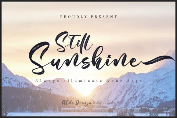Still Sunshine Font