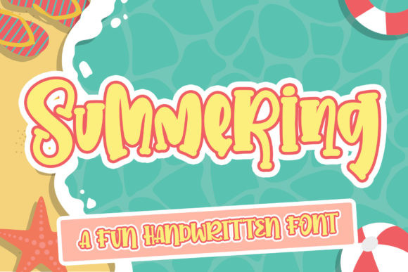 Summering Font