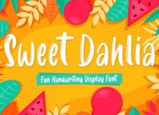Sweet Dahlia Font