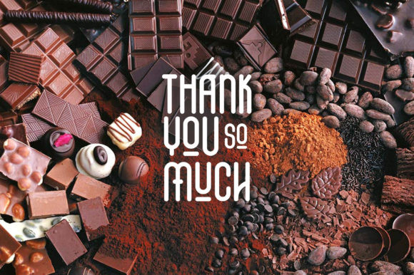 The Chocolate Font
