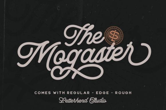 The Mogaster Font
