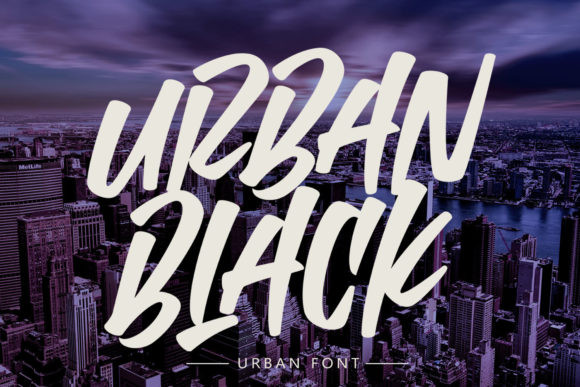 Urban Black Font